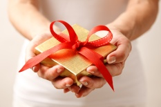 Giving a gift