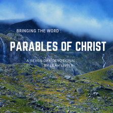 Parable of Christ - 7 Day devotional